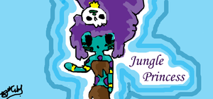 Jungle Princess (2) by jamie23drawer