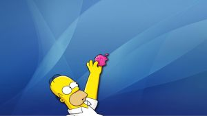 Homer Vs Apple by gawrifort