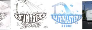 The Bathmasters Store logo by Silent-Pea