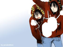 Air Gear 299 Sora and Nike by greatedition