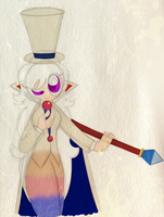 Lady Timpani/Count Bleck Costume Swap by PuccaFanGirl