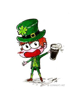 Happy St. Patrick's Day!!! by Soniaka