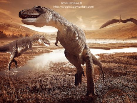 The Age of Dinosaurs by israelcs