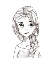 Elsa by BearyFunny