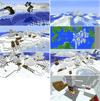 Artic Iceberg Biome by lunchbox1234
