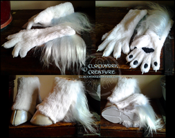 Selene's Paws and Hooves by swandog
