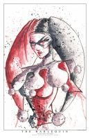 Harley Quinn Saucy by RobDuenas