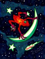 Intergalactic Frog by Gonad-The-Destroyer