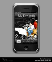 iphone wallpager - night by lokidest