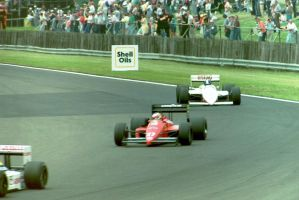 M. Alboreto | D. Warwick (Great Britain 1987) by F1-history