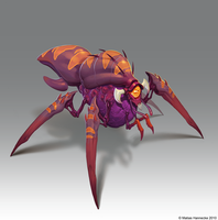 Bug Creature by mhannecke