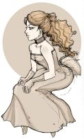 Latte Gown by lupidog