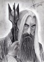 Saruman the White by TheOneKnight