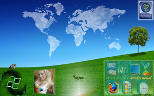 Windows 7 Desktop Theme 7.4 by SeraphSirius