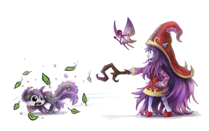 LoL SS: Lulu for adrusaurio by Poki-art