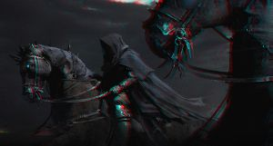 Black Riders 3-D conversion by MVRamsey