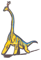PARAWORLD-Brachiosaurus by WorldSerpent