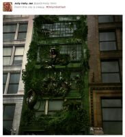#OnlyInGotham - Creepy Plants by jixustudios