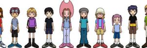 Digimon 2.5 Children by Brillonsloup
