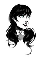 Zatanna sketch1 by AaronNSN