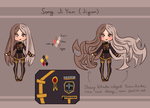 [DGM] Song Ji Yun - temporary ref sheet by GazeRei