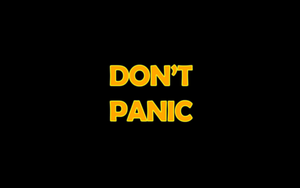 Don't Panic by PurpleToad
