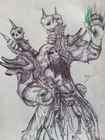 Gul'Dan - World of Warcraft (Warlords of Draenor) by Caold