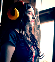 Homestuck Cosplay Photoshoot Aradia by Swoz
