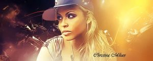 Christina Milian Signature by Neeeksy