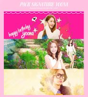 Signature Pack Happy Birthday Yoona by SunnieSoShiVN