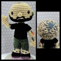 Custom Crochet - Derek by CraftyTibbles