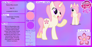 MLP Pony Auction pony 1# Silky Smooth by OldiesSongMLP