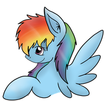 Rainbow Dash x3 by CKittyKat98
