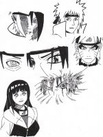 First hand InkNaruto Shuppuden by Trebball