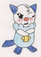 Samantha ''Sam'' the Oshawott by RaijinSenshi