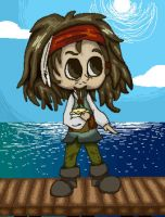 Jack Sparrow by Daniladawg