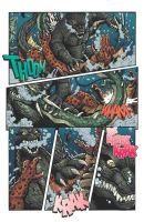 Godzilla Rulers of Earth issue 12 - pg6 by KaijuSamurai