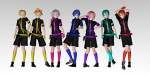 MMD Love Is War Models [GUYS] DOWNLOAD by ChiharuYuuka