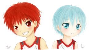 Kuroko no Speedish Paints by Nemu-Saa