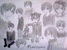 Many Natsume by mystic-pUlse