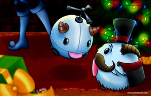 Ms Poro and Mr Poro by Tryha
