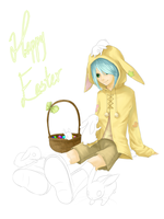 Happy Easter '10 by Meirii