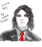 Gerard Way by Enigma-Shadow