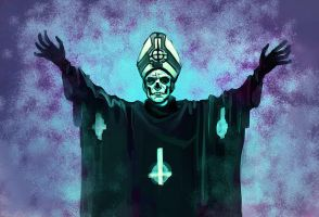Papa Emeritus II by cryoclaire