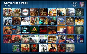 Game Aicon Pack 83 by HarryBana