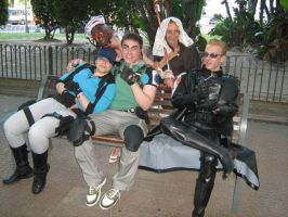 All together XD by Chris--Redfield