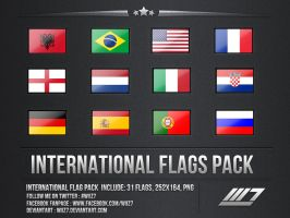 International Flags by daWIIZ