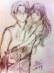 Ace Attorney Investigations-Miles(34) And Kay(25) by sawara737