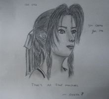 Aerith - i never blamed you - by twinkelsparky1