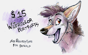[CLOSED] $15 Portrait Commissions! by Tsebresos